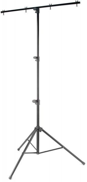 Stagg LIS-A1022BK 1-fach Licht-Stativ, Mittelgewicht