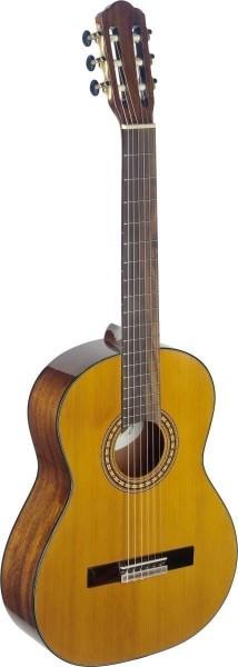 Angel Lopez SIL-HG Silvera Serie 4/4 klassische Gitarre mit massiver Fichtendecke