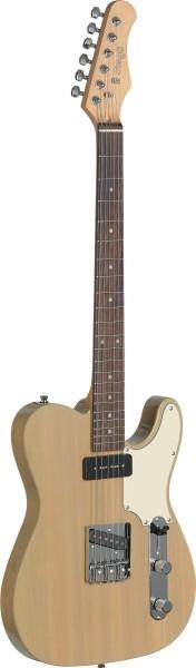 "Stagg SET-CST YW Vintage ""T"" Serie Custom E-Gitarre"