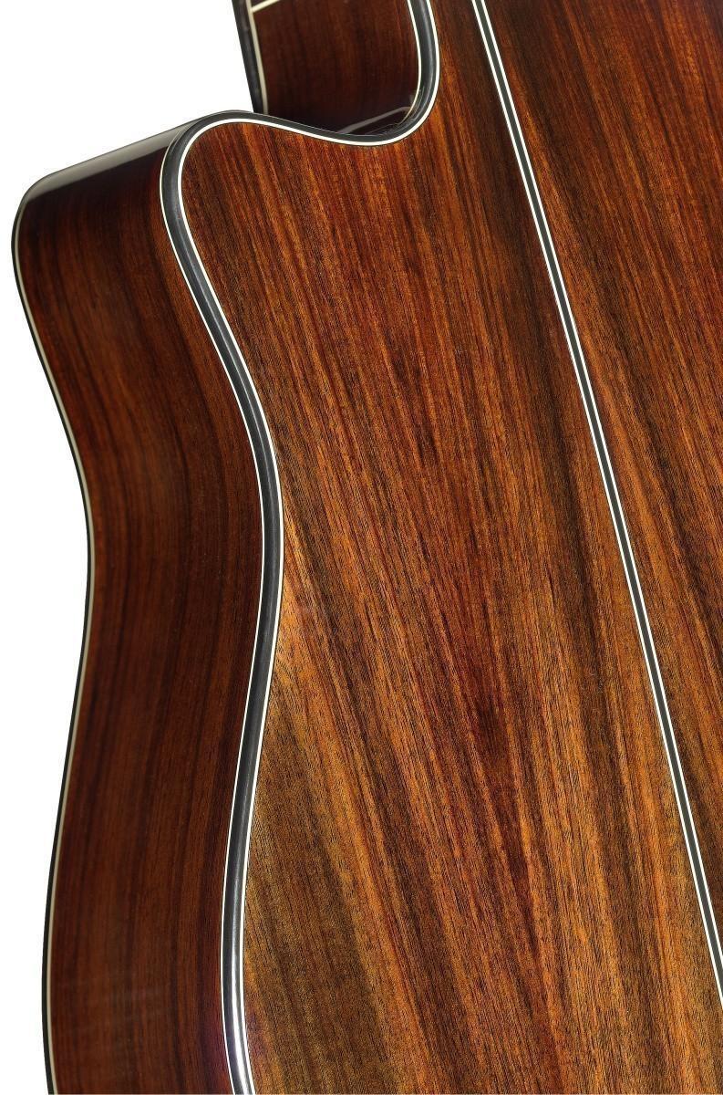 E//A Auditorium Gitarre m massiver Fichtendecke Lyne Serie Cutaway u