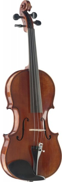Stagg VN-3/4 HG 3/4 vollmassive Flamed Maple Violine im Deluxe Formkoffer