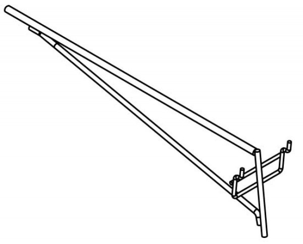 Stagg DIS-SS-40 Fixierung f. Auflage 2 St