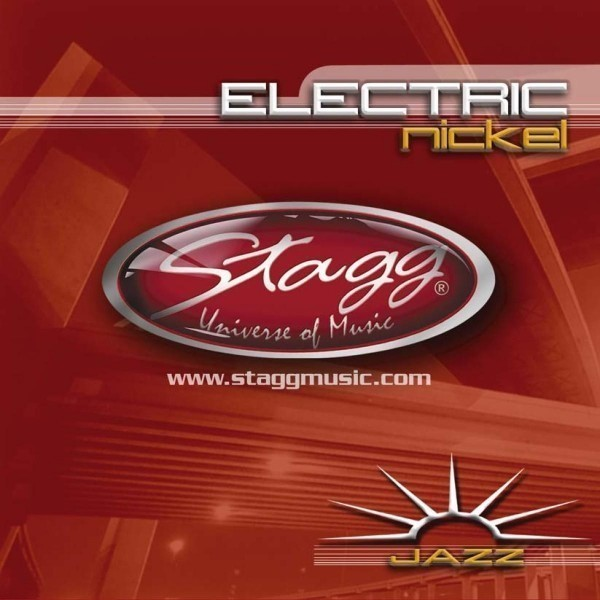 Stagg EL-1254 Vernickelter Stahl Saitensatz für E-Gitarre