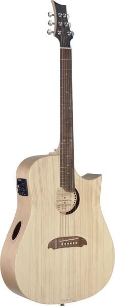 Riversong TRAD CDN P N Tradition Serie, Dreadnought Gitarre m. Cutaway und massiver Decke aus Adiron
