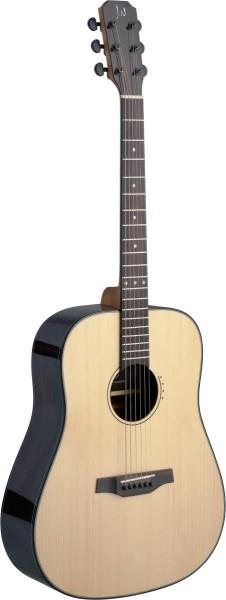 James Neligan LYN-D Lyne Serie Dreadnought Akustikgitarre mit massiver Fichtendecke