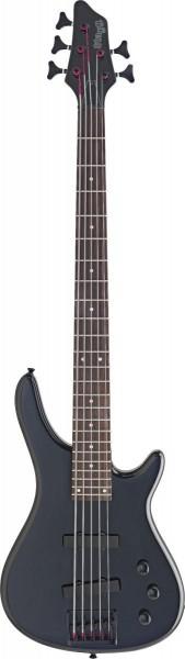 Stagg BC300/5-BK 5-saitige Fusion E-Bassgitarre
