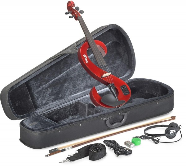 Stagg EVN 4/4 TR 4/4 Silent Violin Set