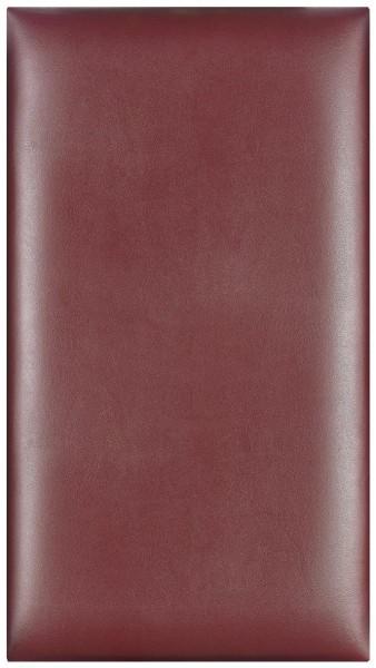 Stagg SWR Weinrote Kunstleder-Sitzauflage / Sitzpolster für PB 40/45/47