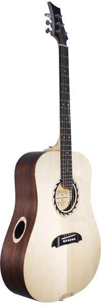 Riversong TRAD 3 N Tradition Three Serie, Dreadnought Gitarre mit massiver Decke aus AAA Sitkafichte