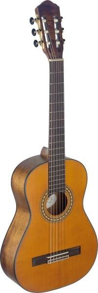 Angel Lopez SIL-7/8 M Silvera Serie 7/8 klassische Gitarre mit massiver Fichtendecke