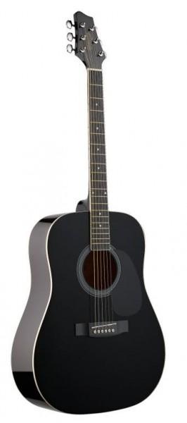 Stagg SW201BK Akustische Dreadnought Gitarre