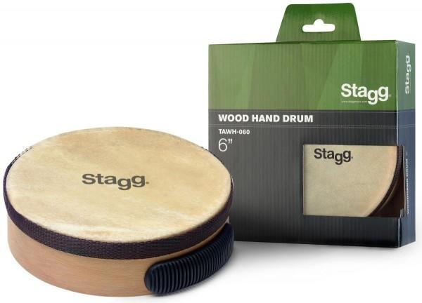 Stagg TAWH-060 6 Zoll vorgestimmte Holz-Handtrommel
