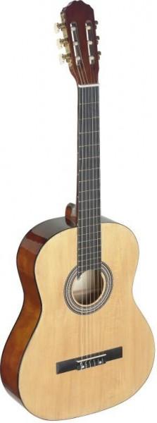 VP Challange CH-C40 NAT 4/4 klassische Gitarre mit Decke aus Lindenholz
