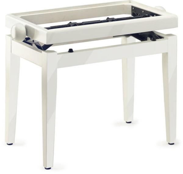 Stagg PB45 WH P Klavierbank in Weiß poliert Modell PB 45