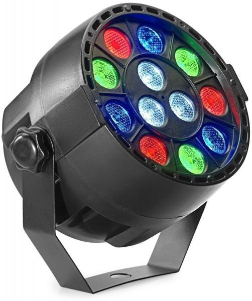 Stagg SLI-ECOPAR XS-2 ECOPAR XS Spot mit 12 x 1-Watt R/G/B/W LED