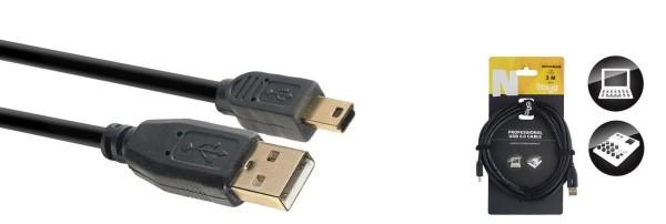 Stagg NCC3UAUNB N-Serie USB 2.0 Kabel
