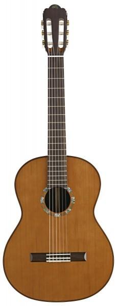 Angel Lopez C1648 S-CED 4/4 Klassik-Gitarre mit massiver AA-Klasse Zederndecke
