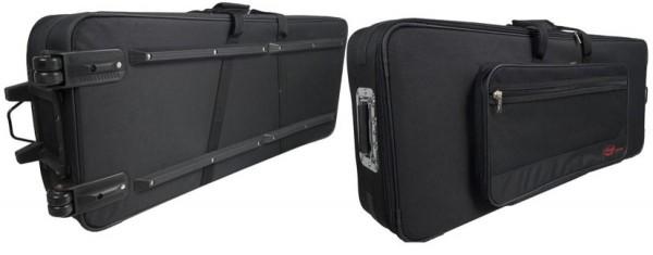 Stagg KTC-150Y Leichtes Softcase f. Keyboards, mit Rollen und Griff