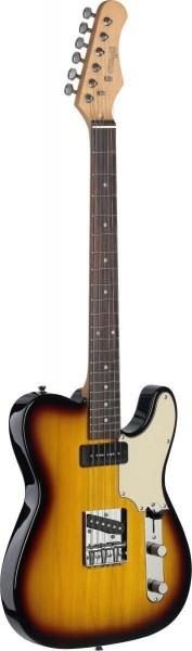 "Stagg SET-CST BS Vintage ""T"" Serie Custom E-Gitarre"