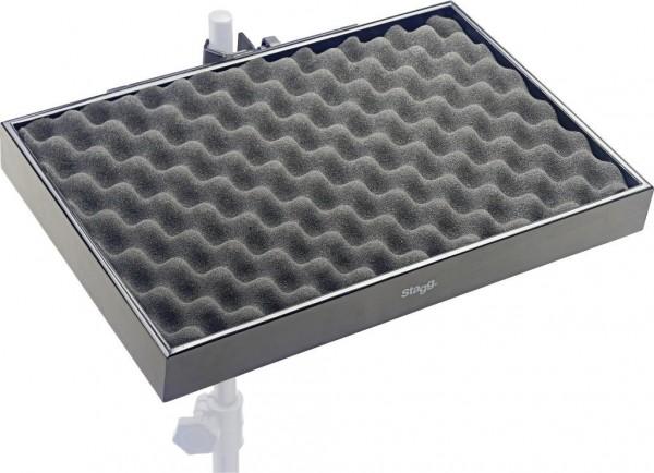 Stagg PCTR-4530 BK Percussion-Ablage mit Klammer für Stative