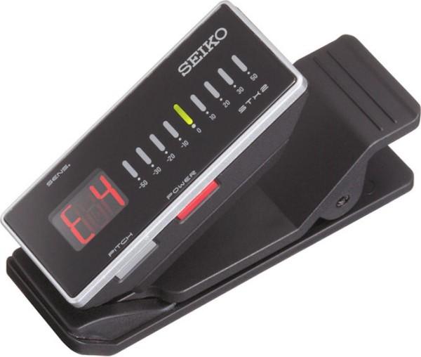 Seiko STX-2 Chromatisches Stimmgerät mit Clip und stylischem Display