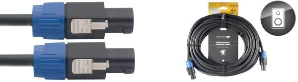 Stagg NSP20SS25BR N Serie, professioneles Lautsprecherkabel: 2x 2,5 mm2 - SpeakON / Speak