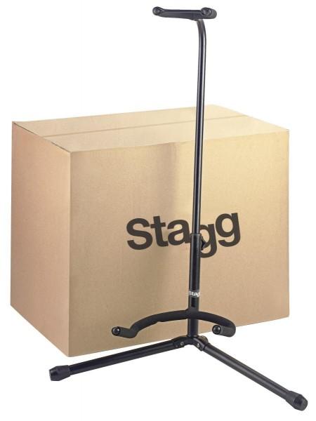 Stagg SG-50 BK/20 Set von 20 schwarzen zusammenklapbaren Gitarrenständern