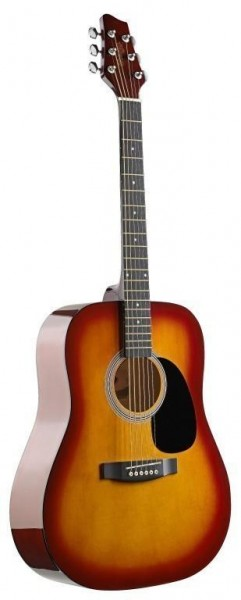 Stagg SW201CS Akustische Dreadnought Gitarre