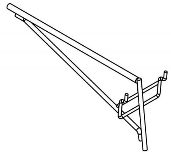 Stagg DIS-SS-25 Fixierung f. Auflage 2 St