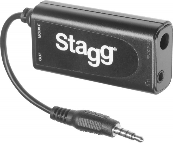 Stagg GB2IP 10 Gitarre/ Bass to iPhone/ iPad Adapter