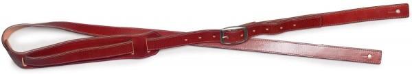 Stagg SL-RBILLY-BR Braun Ledergurt für Gitarre