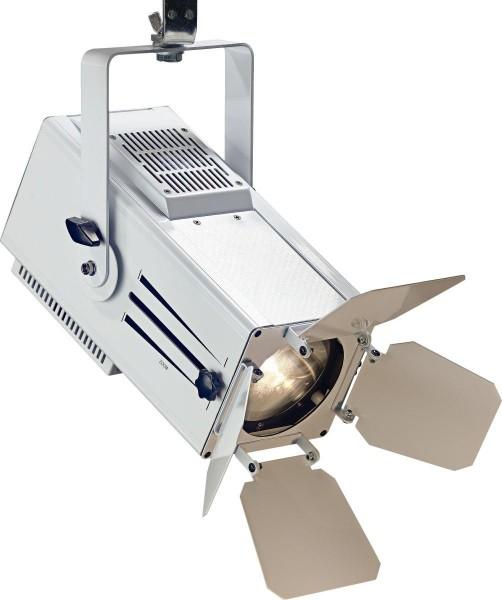 Stagg SLWM60ZD32W-0 60-Watt Wash Mini Spotlight, warmes Licht, weißes Metallgehäuse (Mini Wash 60)