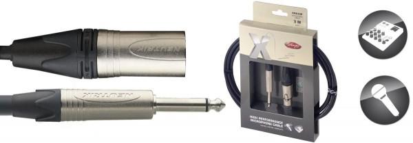 Stagg XMC3XP X-Serie, Mikrofon Kabel - XLRv / Klinke