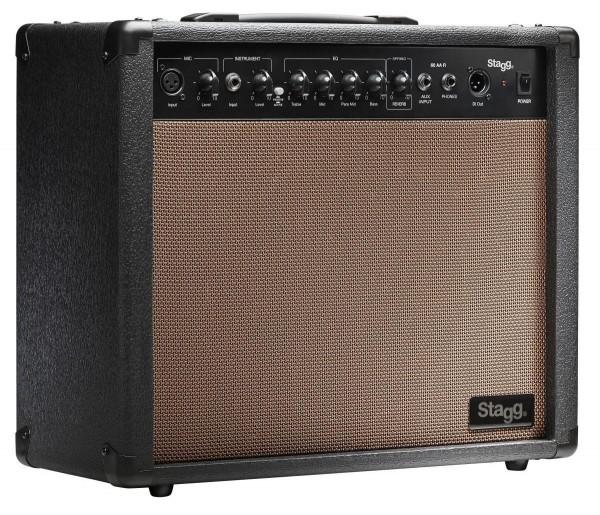 Stagg 60 AA R EU 60 W Gitarrenverstärker mit Federhall
