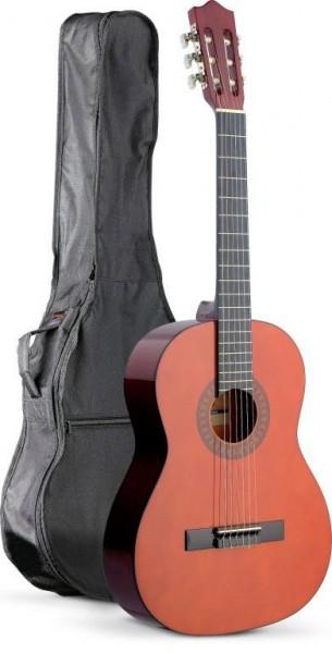 Stagg C542 BAG PACK 4/4 Konzertgitarre in natur mit Lindendecke inklusive Tasche