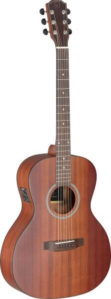 James Neligan DEV-PFI BBST DEV-PFI BBST Elektro-Akustische Parlor Gitarre mit Decke aus massivem Mah