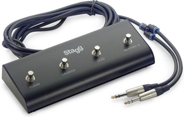 Stagg SSWB4 Switchbox mit 4 Tasten und 5m Kabel