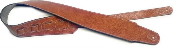 Stagg SFL 20 BRW Braun Lederimitat Gitarrengurt